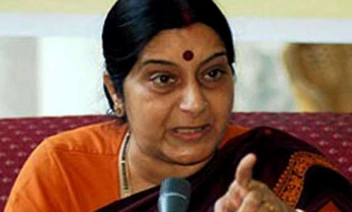 we should condemn violence everywhere in the world sushma