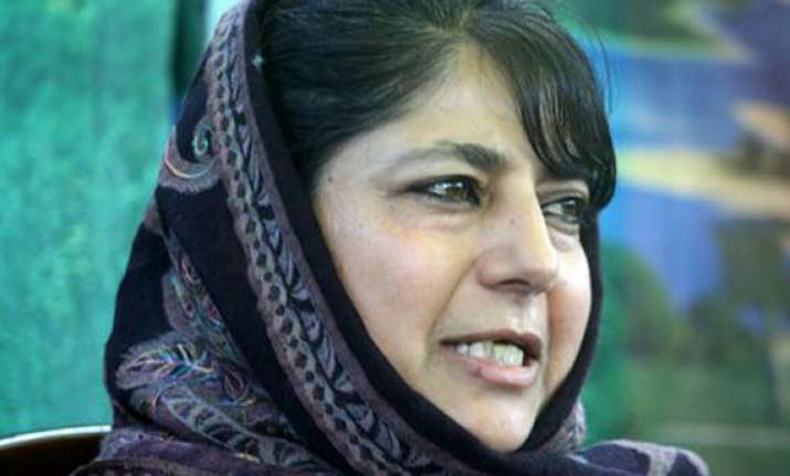 what did congress do to stop modi from growing mehbooba