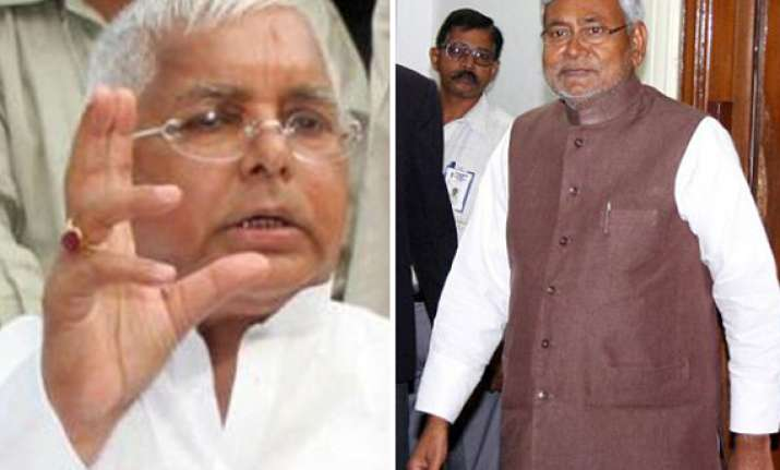 what will nitish do if modi is pm candidate asks lalu