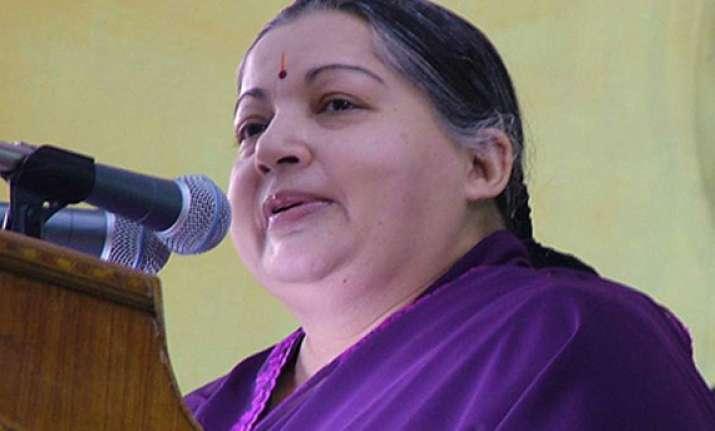 where is women and child development minister jayalalitha