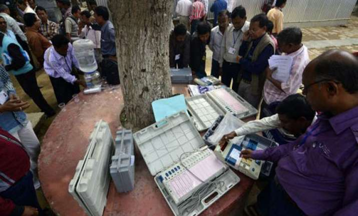 whopping 93 per cent voters turnout in tripura elections