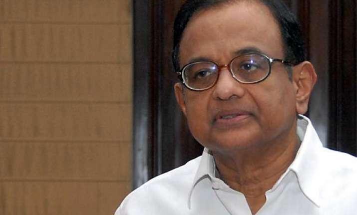 why is bjp running away from debate asks chidambaram