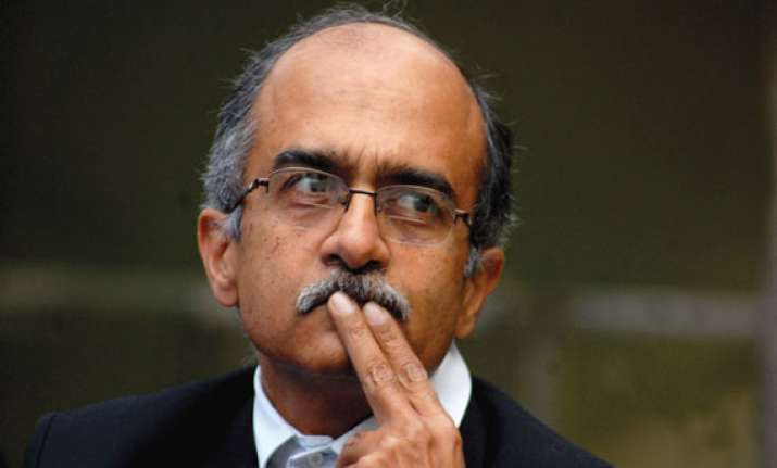 will bjp snap its ties with rss asks prashant bhushan