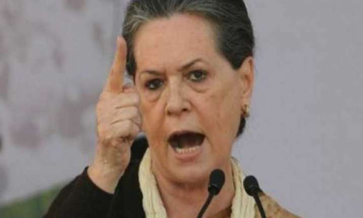 will lead from the front for party s revival sonia gandhi