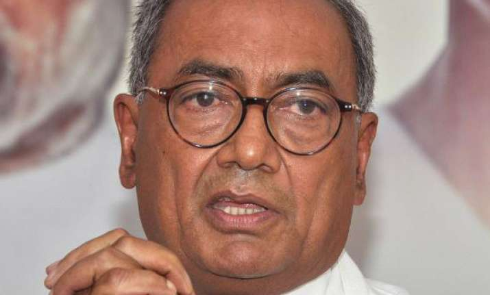 will welcome trs merger with congress digvijay