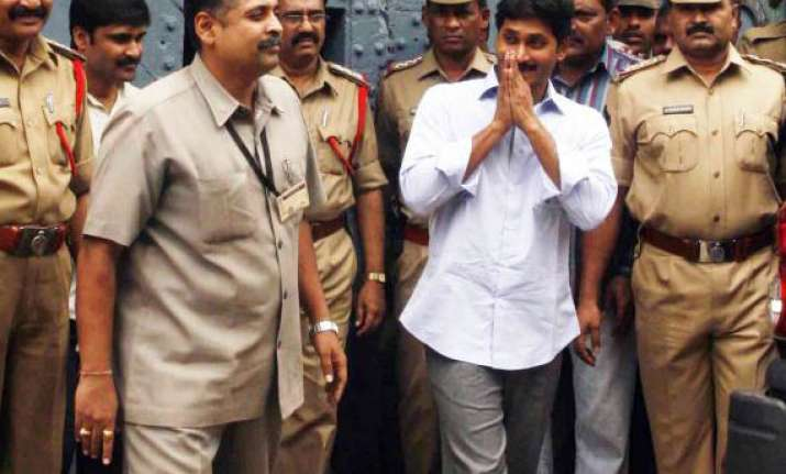 ysr congress leader jagan completes a year in jail