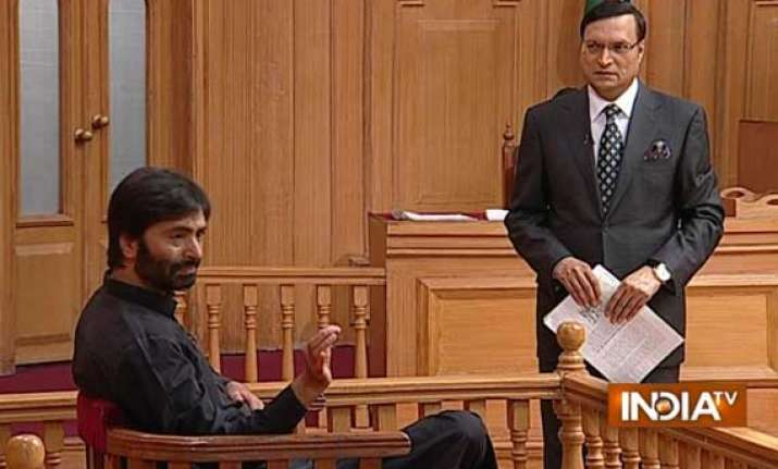 yasin malik hints at intensifying stir says modi adopting
