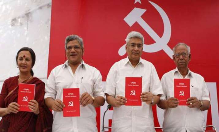 yechury ignores opinion polls on lf prospects
