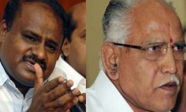 yeddy tried to buy peace with me says kumaraswamy