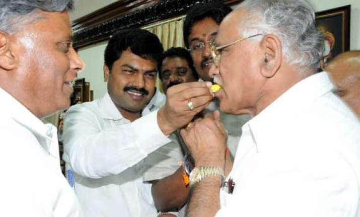 yeddyurappa s son to contest assembly bypoll