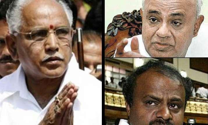 yeddyurappa to face twin political attack