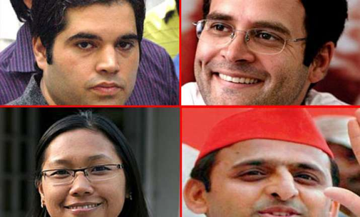 young politicians india is looking up to in 2013