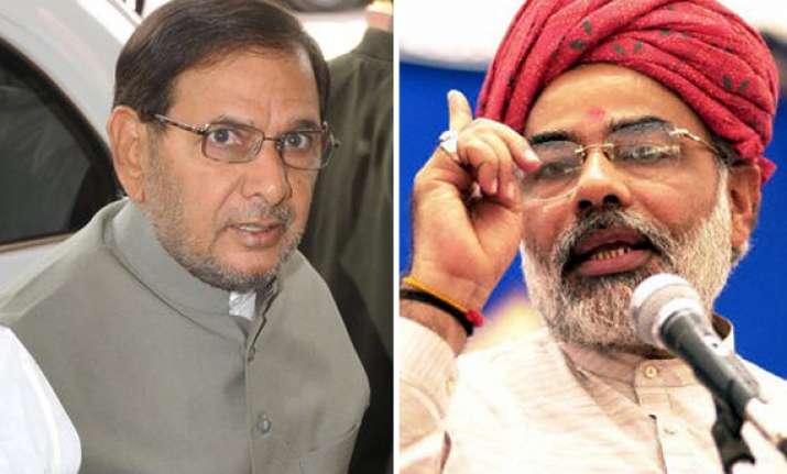 2014 is far away says jd u chief sharad yadav on modi as pm