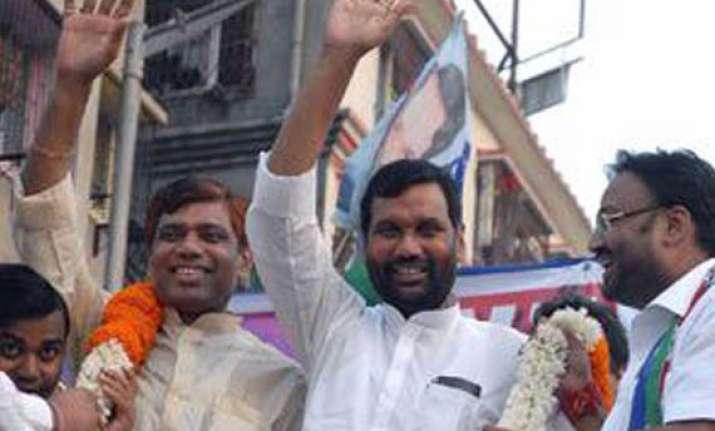 mahajungle raj prevails in bihar says paswan s party