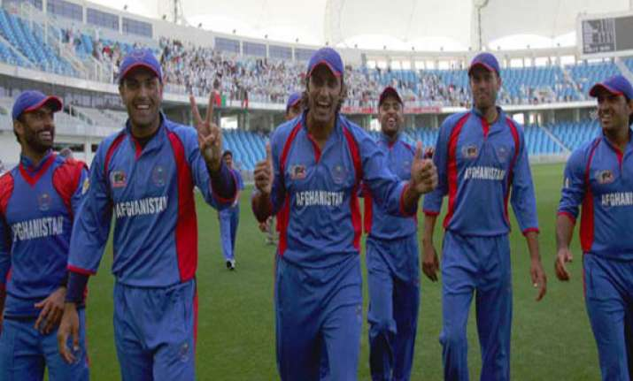 afghanistan a win away from cricket world cup qualification
