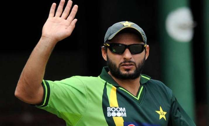afridi best man to lead pakistan at 2015 world cup says