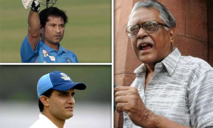 after sachin s nomination left wants rs ticket for sourav