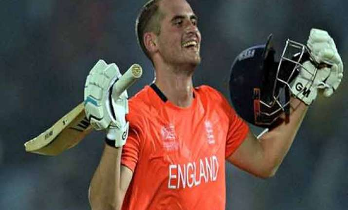 alex hales gets a chance to explode in the opener against