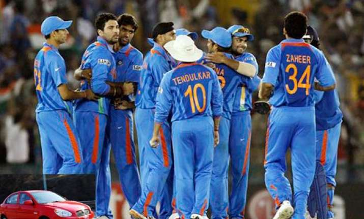 all indian players to get new hyundai vernas if they win