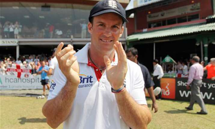 andrew strauss confident about future