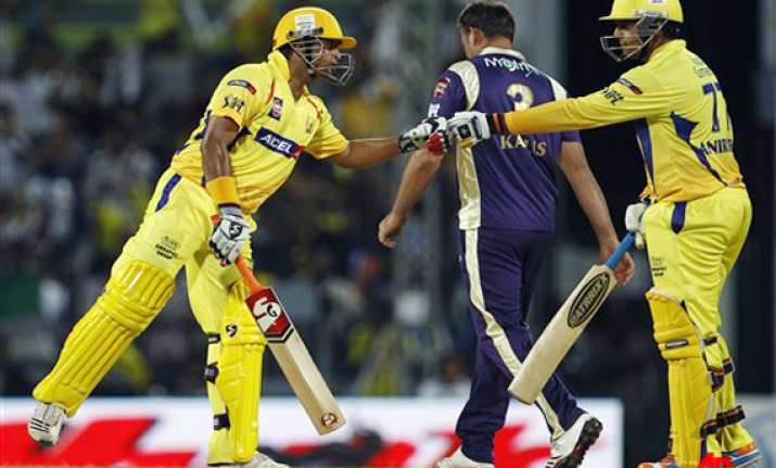 chennai win thrilling opener against kolkata