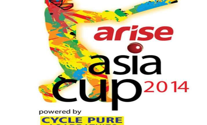 arise india bags title sponsorship for asia cup 2014