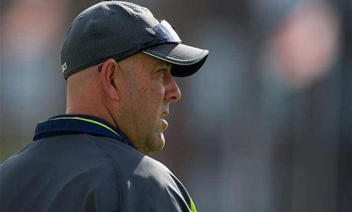ashes icc fines aussie coach lehmann for criticizing