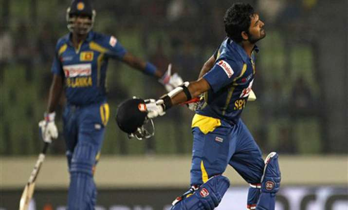asia cup malinga and thirimanne guide sri lanka to 5th asia