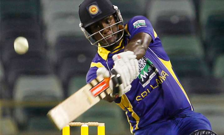 mathews heroics in vain as aus beat lanka by 5 runs