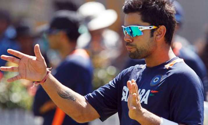 aussies sledge when they get frustrated says virat kohli