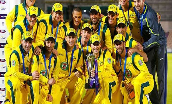 australia no.1 odi team in latest one day international