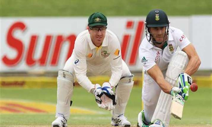 australia south africa sa 145 3 tea day 1 2nd test