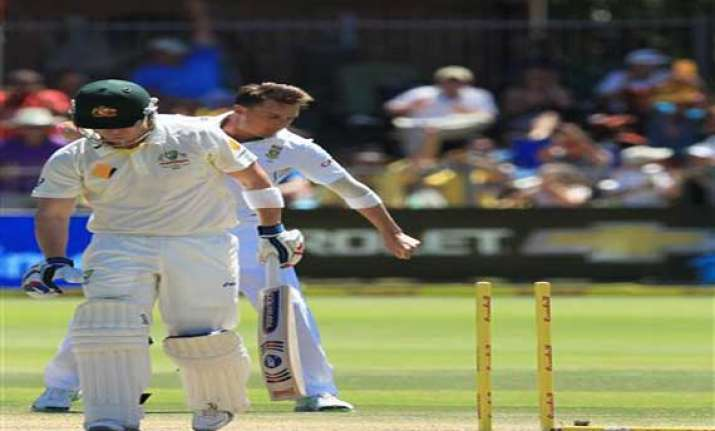 australia south africa australia 205 8 lunch day 3 2nd test