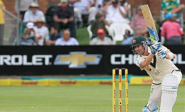 australia declares on 494 7 vs south africa.