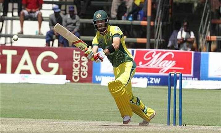 australia hammers zimbabwe by 198 runs