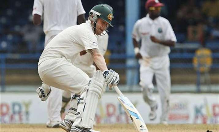 australia leads windies by 127 runs in 2nd test
