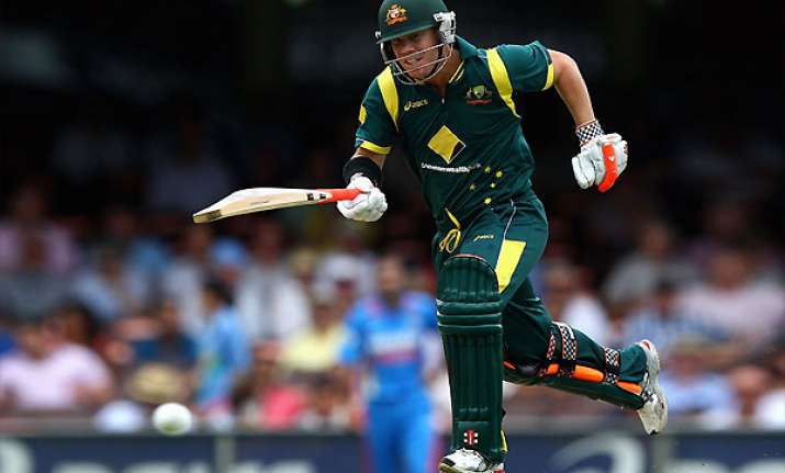 warner 163 helps aus win first final despite lankan