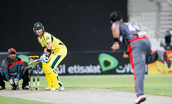 australia beats afghanistan by 66 runs