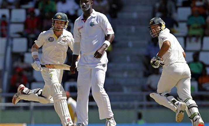 australia extends lead against windies in 3rd test