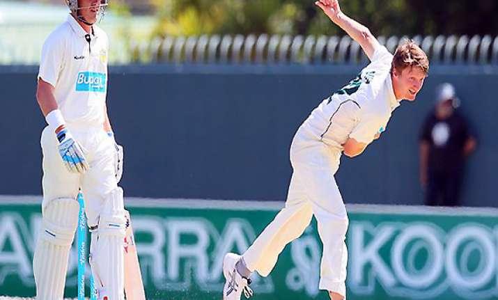 australian pacer jackson bird to make test debut against