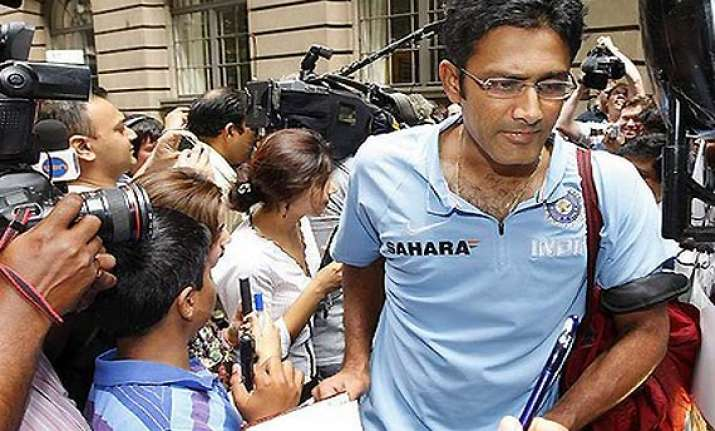 bcci and kumble at loggerheads over resignation