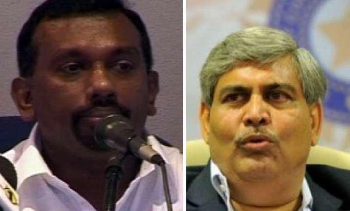 bcci showdown with lanka cricket averted