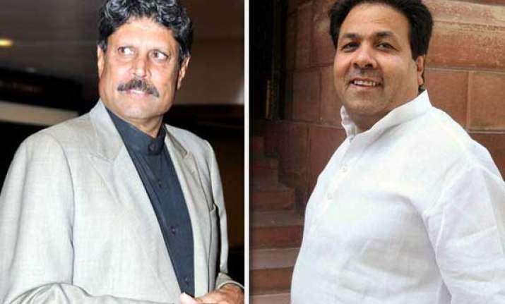 bcci is not against kapil says shukla