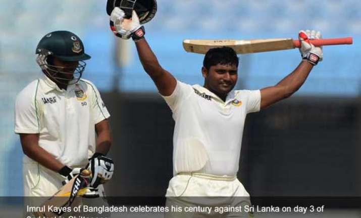 bangladesh sri lanka bangladesh 409 8 stump day 3 2nd test