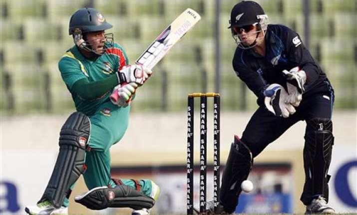 bangaldesh beat new zealand by 40 runs in 2nd odi