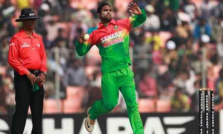 bangladesh s sohag gazi reported for suspected bowling