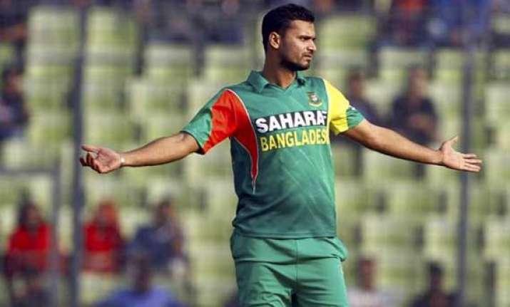 beating india is no longer an upset says mashrafe mortaza