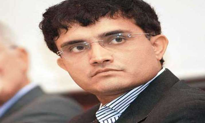 bengal minister wants sourav ganguly to head bcci