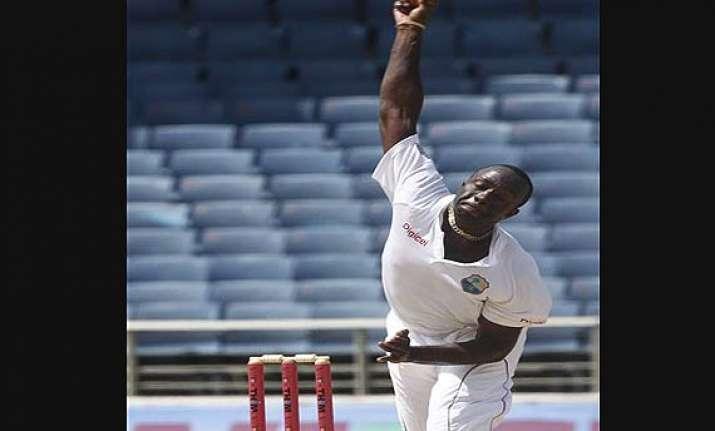 benn roach share wickets as new zealand slump to 217 7
