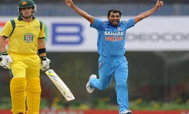 beware of shami bailey tells aussie batsmen